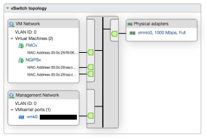 vSwitch0 Configuration