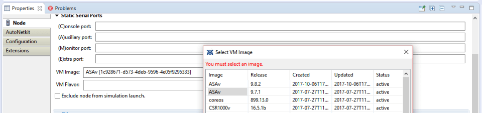VM Images in VM Maestro