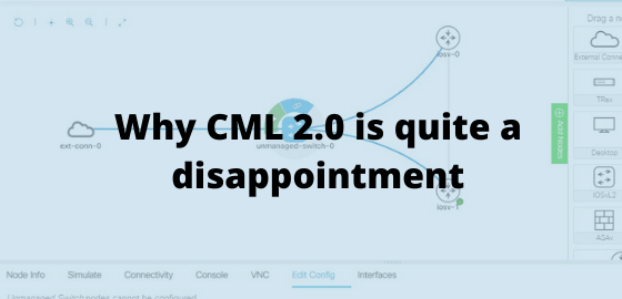 Why CML 2.0 is quite a disappointment