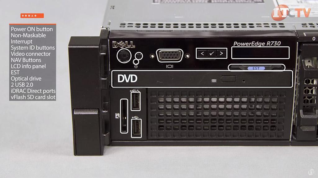 Dell Poweredge R730 Power Consumption