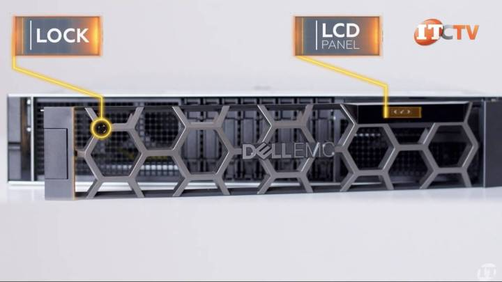 Dell EMC PowerEdge R840 Server LCD bezel