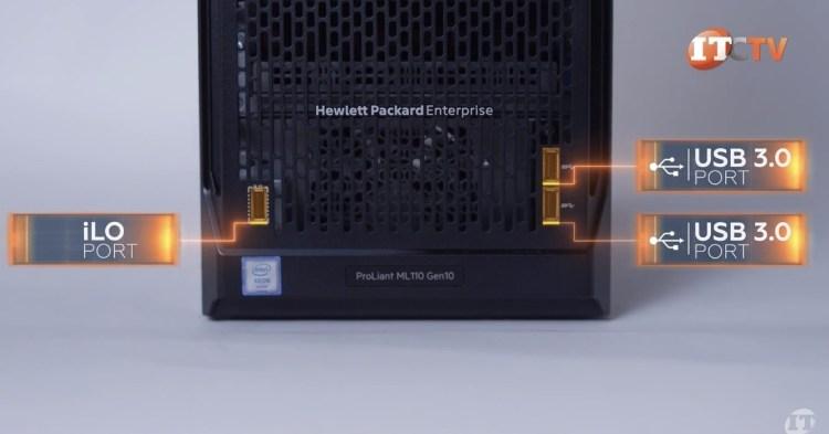 HPE ProLiant ML110 Gen 10 USB