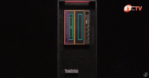 Lenovo ThinkStation P720 Workstation Media Bay