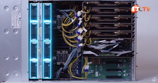 Supermicro SuperServer 4029GP-TRT2 Loaded System