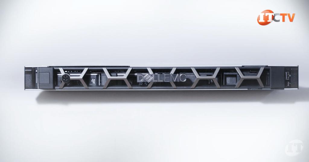 Front bezel on Dell EMC R6525