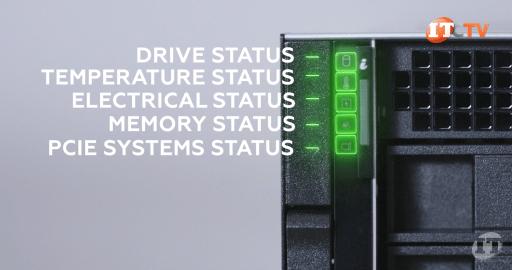 Dell R7515 Status LEDs