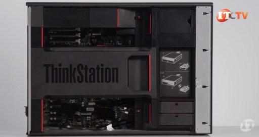Lenovo ThinkStation P920 air shroud