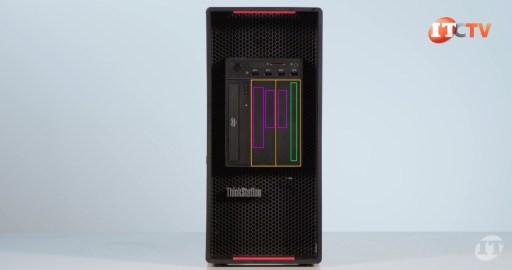Lenovo ThinkStation P920 workstation front configurations