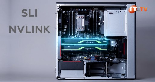 SLI and NVLINK are supported on P520