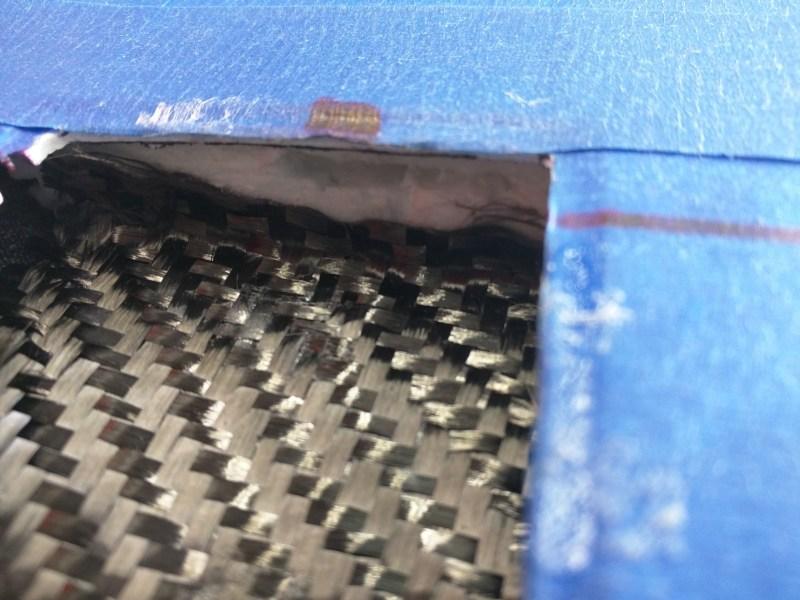 Notch In Sub-Rib For Servo Frame