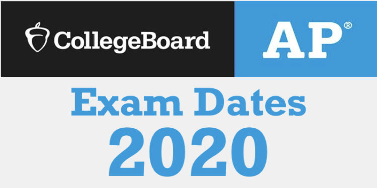 AP exam dates 2020