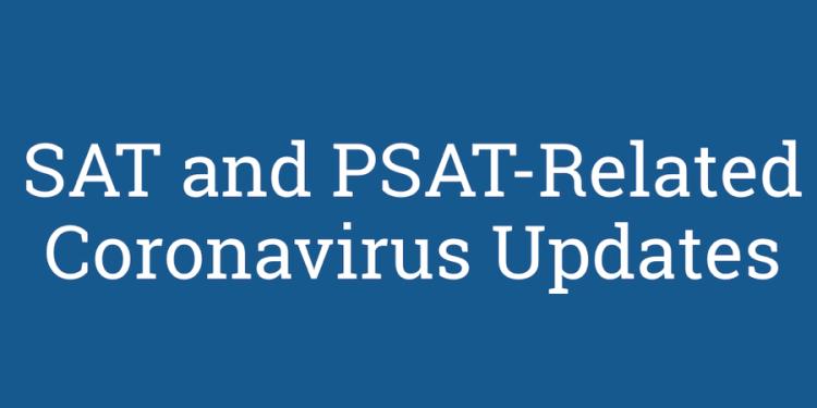 SAT Coronavirus Update