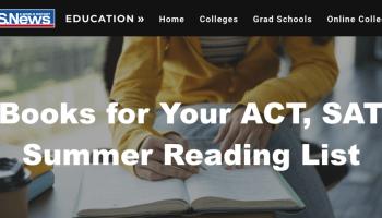增進SAT/ACT的暑期閱讀清單