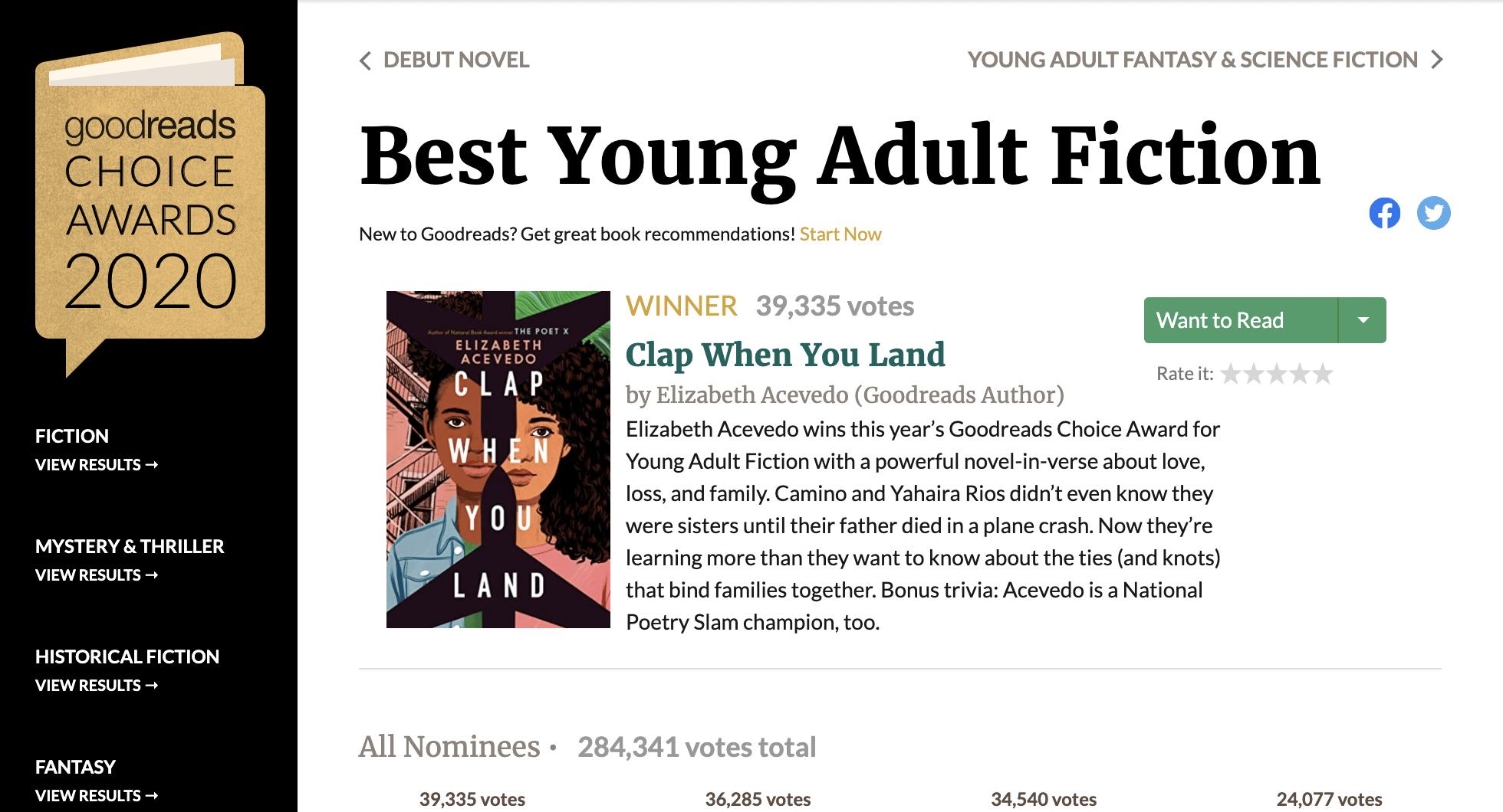 20本票選最受歡迎的2020年青少年小說推薦!