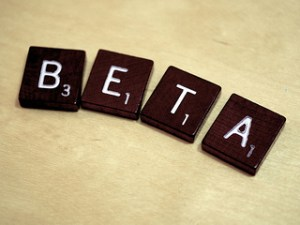 Beta by Simon Cunningham license CC BY 2.0
