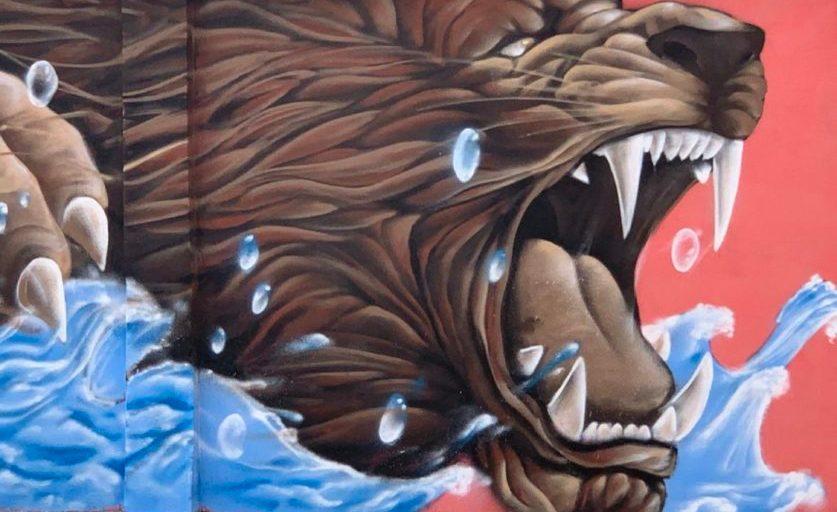 Effet Graff l'art urbain et le graffiti sur les murs de Cotonou