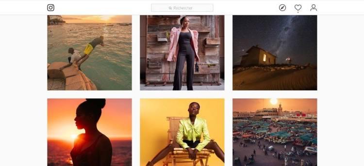 Interface Instagram Top 5 réseaux sociaux pour les photographes