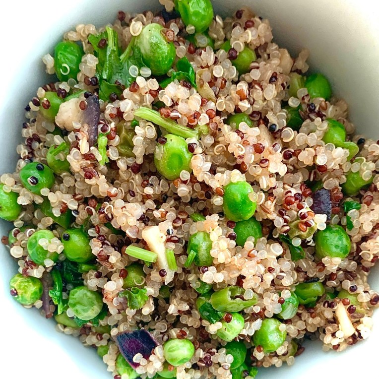 Quinoa pea meal by Iyurved