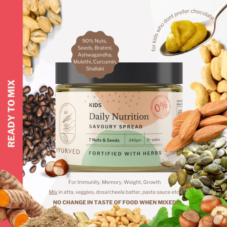Ayurvedic Savoury Spread for kids Daily Nutrition by Iyurved