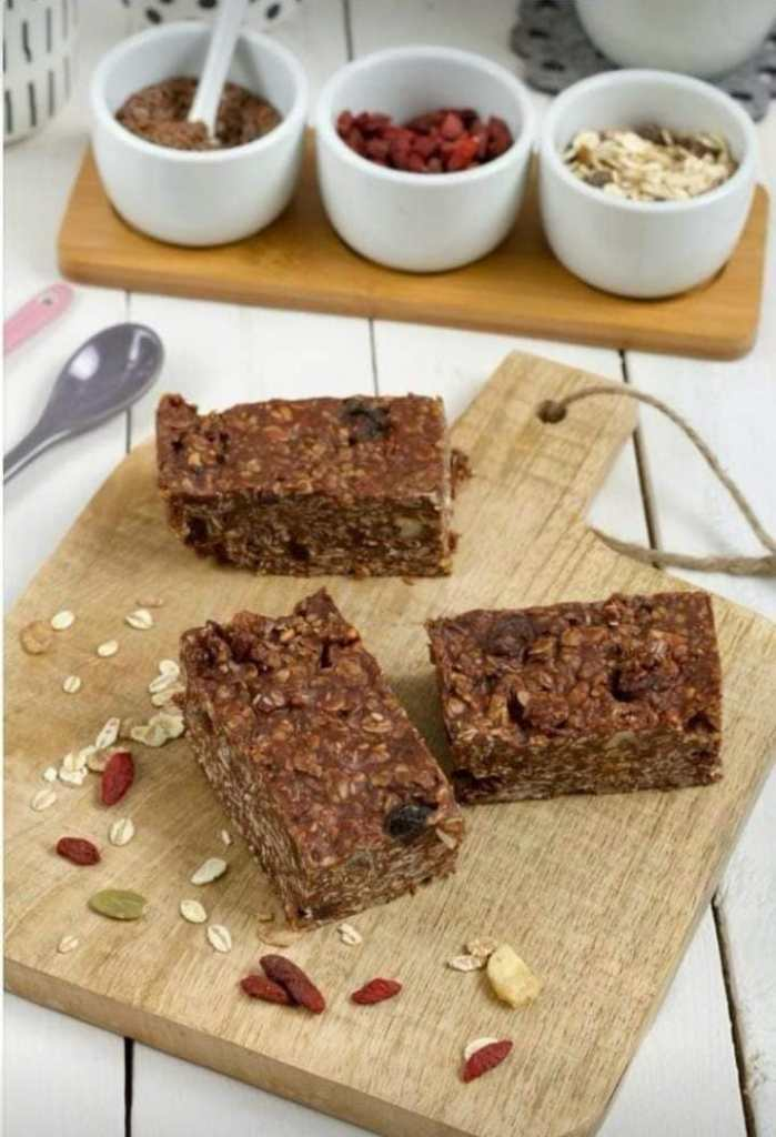 recipe of oat chocolate bar by iyurved