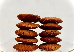 Cookies recipe with Ragi flour by Iyurved
