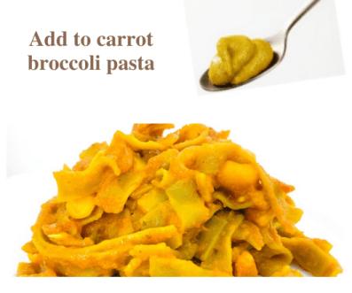 Carrot and broccoli pasta recipe