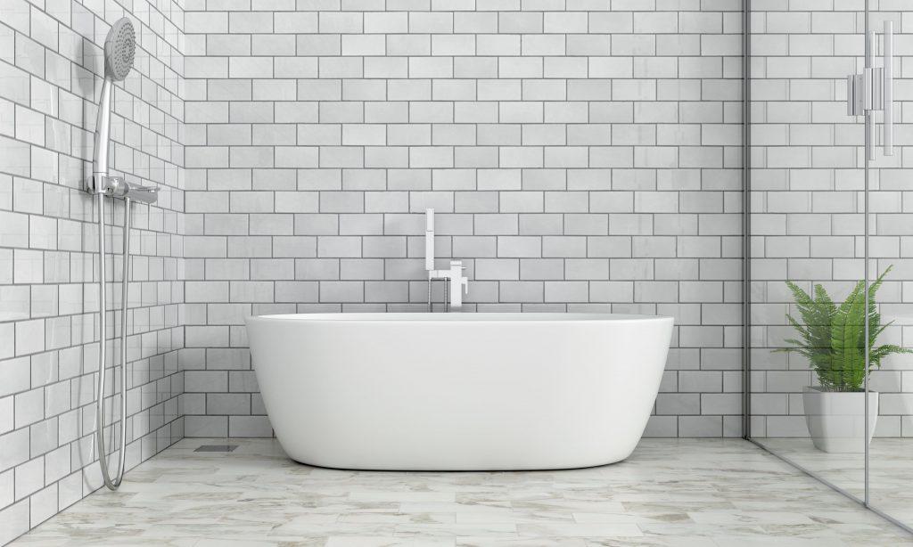 salle de bain en carrelage comment