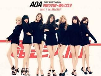 Miniskirt(짧은 치마) - AOA(에이오에이)