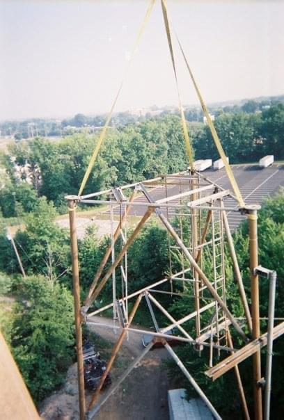 Tower take down photos