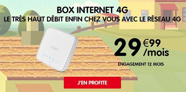 nrj mobile lance sa box 4g avec internet illimit 29 99 euros blog ja informatique. Black Bedroom Furniture Sets. Home Design Ideas