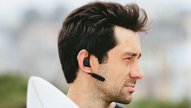 Jabra Storm behind-the-ear Bluetooth headset