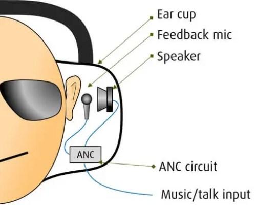 Feedback ANC setup