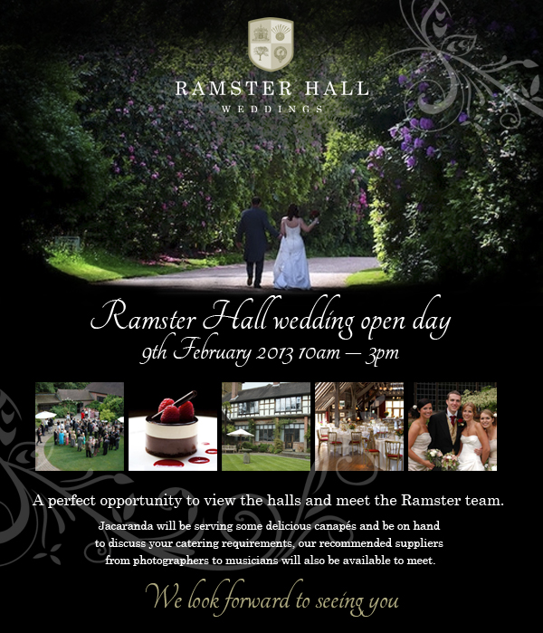 Ramster Hall Open Day