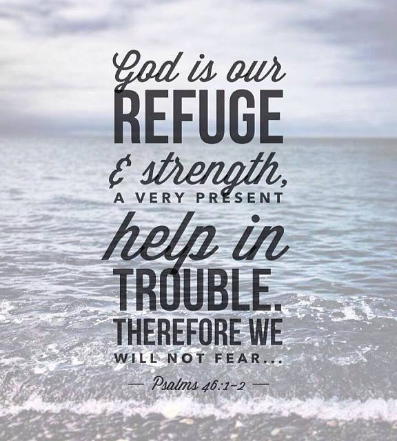 His Encouragement: God is our refuge and strength
