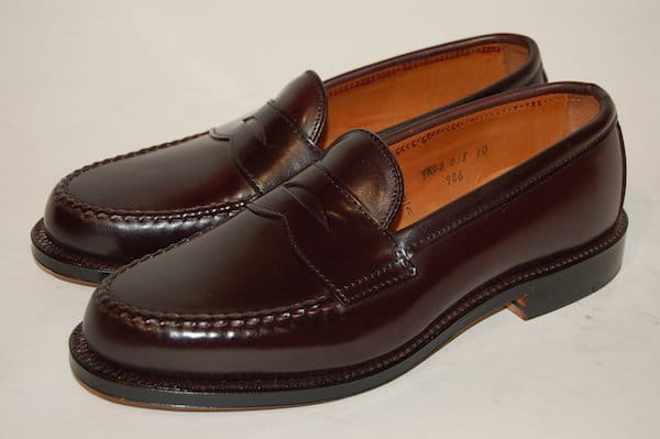 chaussures hommes mocassin penny loafer