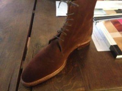 city boots marron