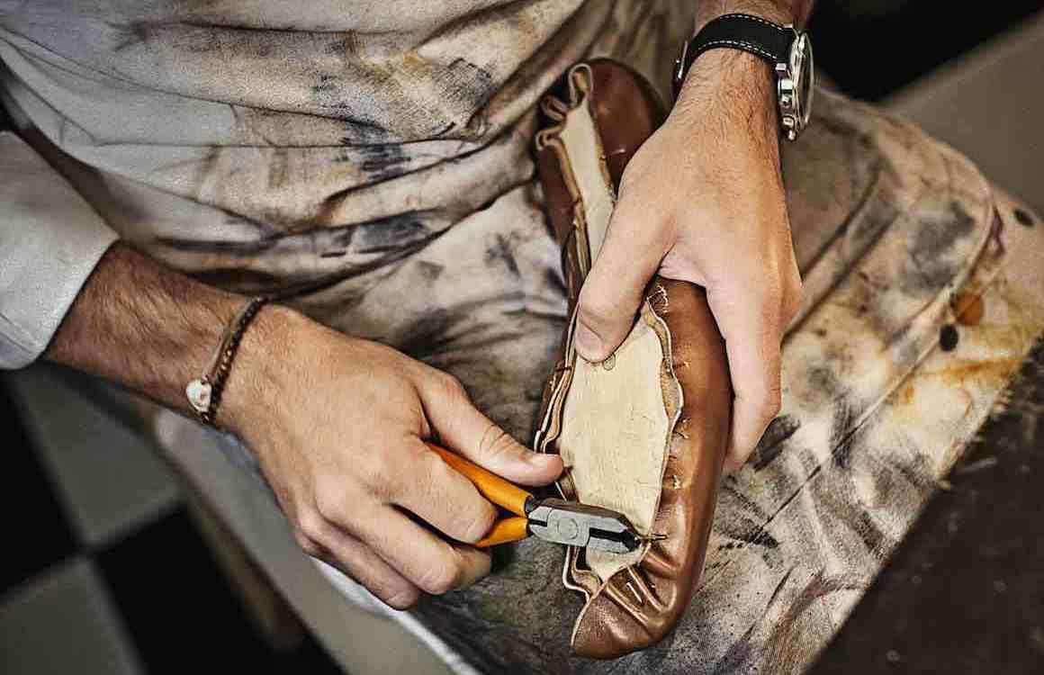 Montage chaussures goodyear blake norvégien bolognais