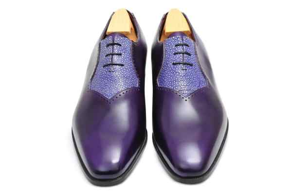 chaussure homme galuchat