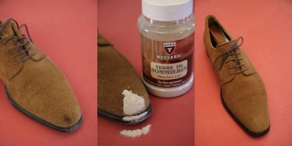 Nettoyer une tache sur du cuir