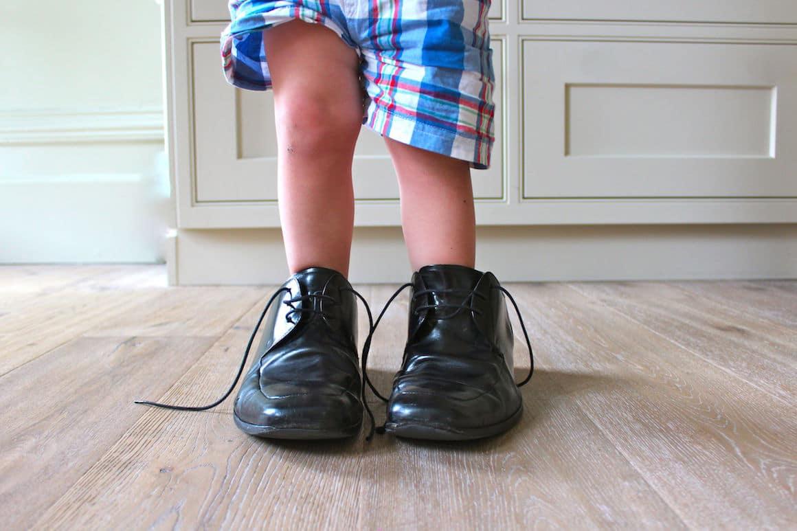 Chaussures trop grandes : quelles solutions ?