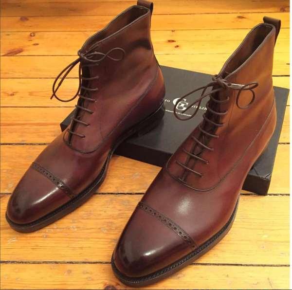 choisir des chaussures pour homme balmoral