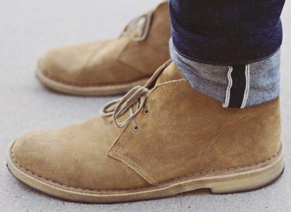 choisir des chaussures pour homme desert boots