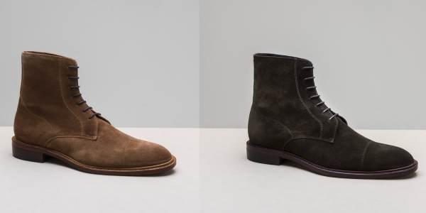 Notre City Boots V1 désormais disponible en velours noisette et vert olive - CLIQUEZ SUR L'IMAGE POUR L'AGRANDIR