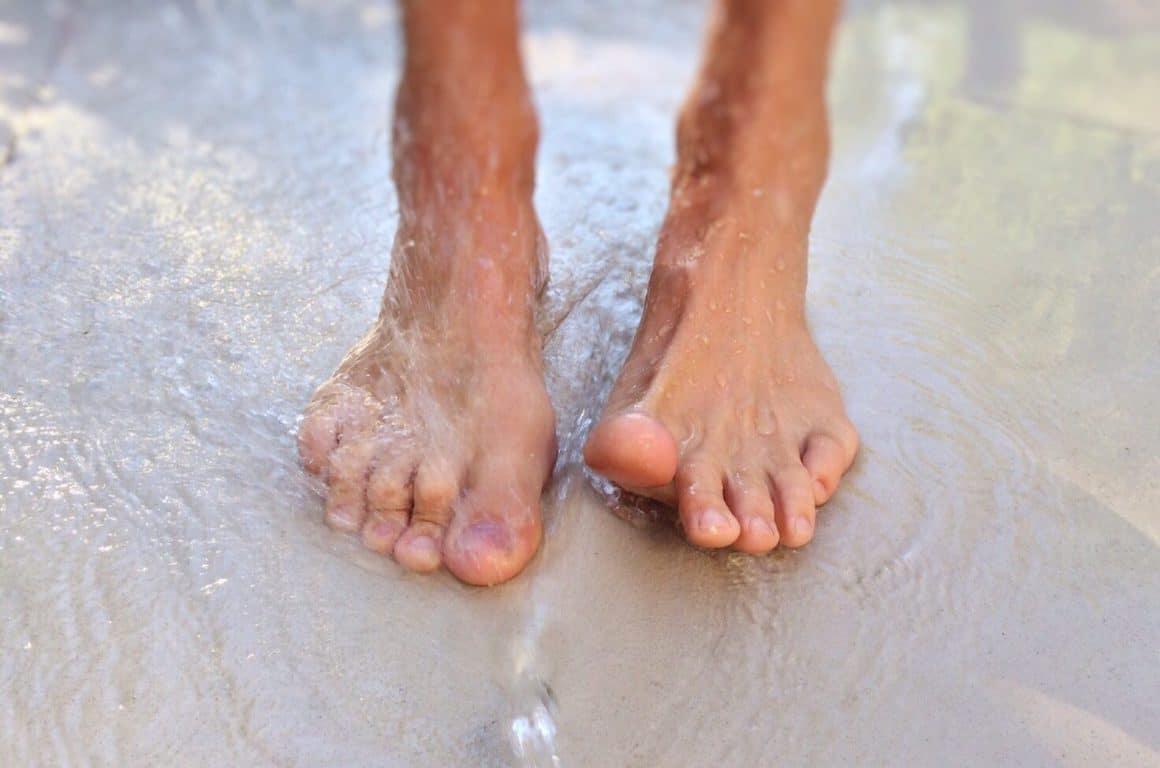 sueur des pieds