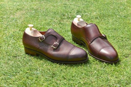 chaussure derby boucles