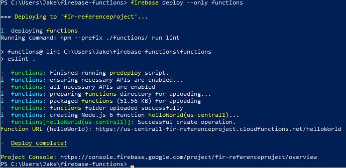 Firebase Js