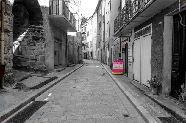 Les petites rues de Annot