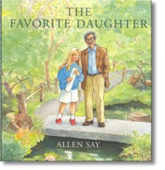 Author/illustrator Allen Say will read The Favorite Daughter at the upcoming Target Day! (Image credit: Allen Say)