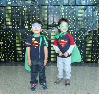 "A pair of ""Superboys"""
