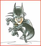 Batman Caricature by Cartoon Slinger